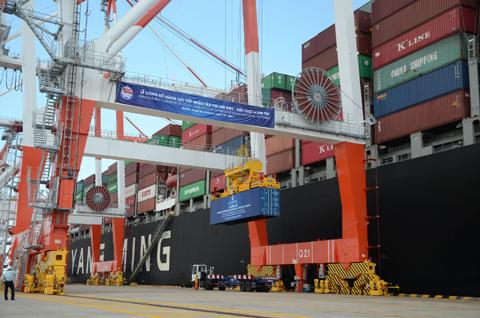 Kết thúc thí điểm bình ổn giá dịch vụ bốc dỡ container tại cảng Cái Mép -  Thị Vải - Báo Bà Rịa - Vũng Tàu điện tử