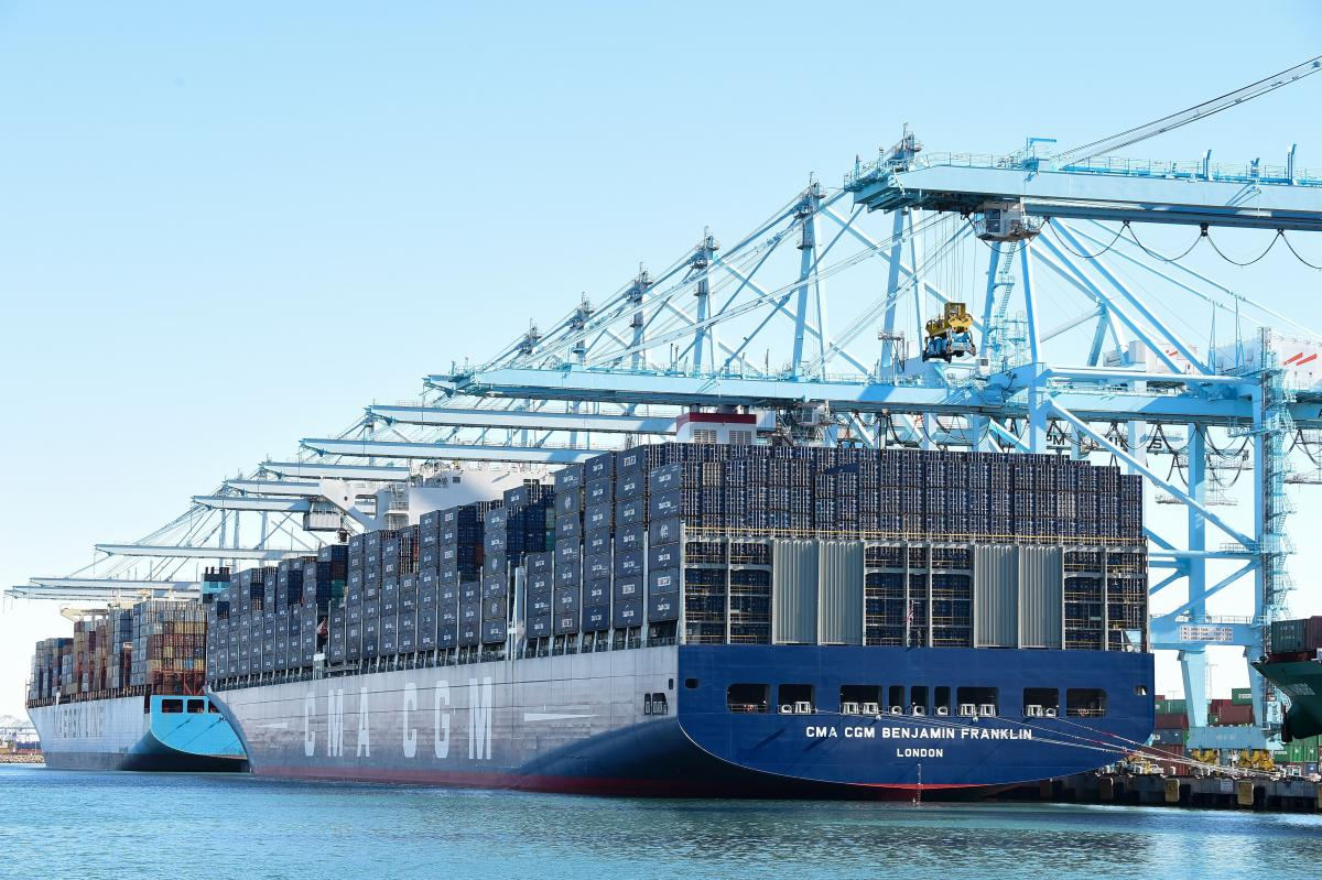 Giant Container Ships Arrive On US Shores, But Many Ports Not Prepared For Era Of Megaships